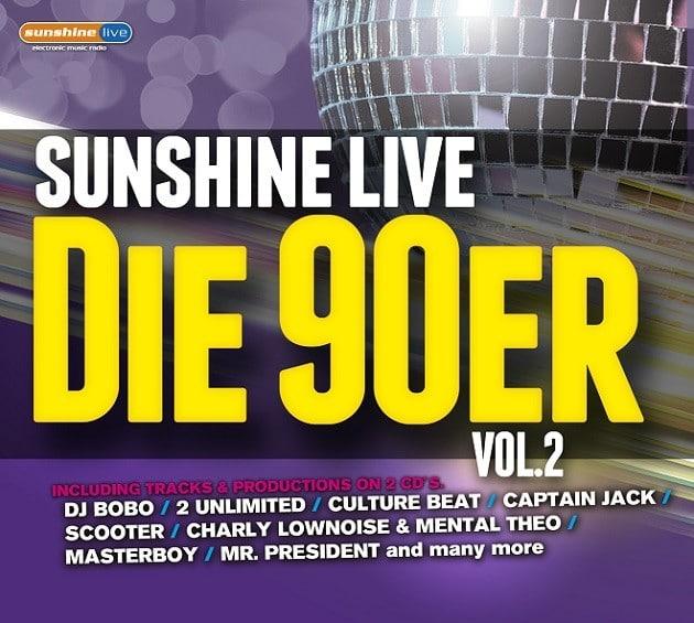 sunshine live – Die 90er 2