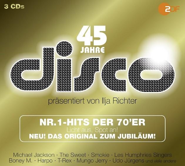 45 Jahre ZDF Disco - Nr.1 Hits der 70er