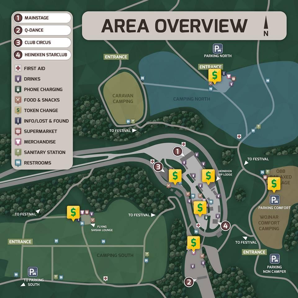 Area Map ELF 2016 Token Change