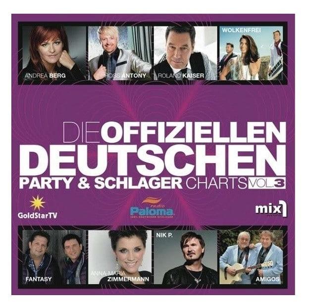 Die Offiziellen Deutschen Party- und Schlagercharts 3