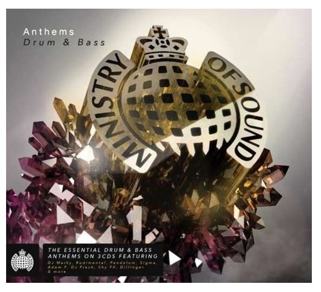 Ministry of Sound Anthems Drum & Bass
