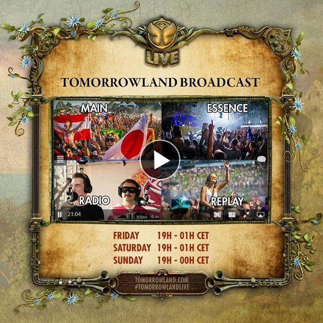 Tomorrowland Livestream 2015