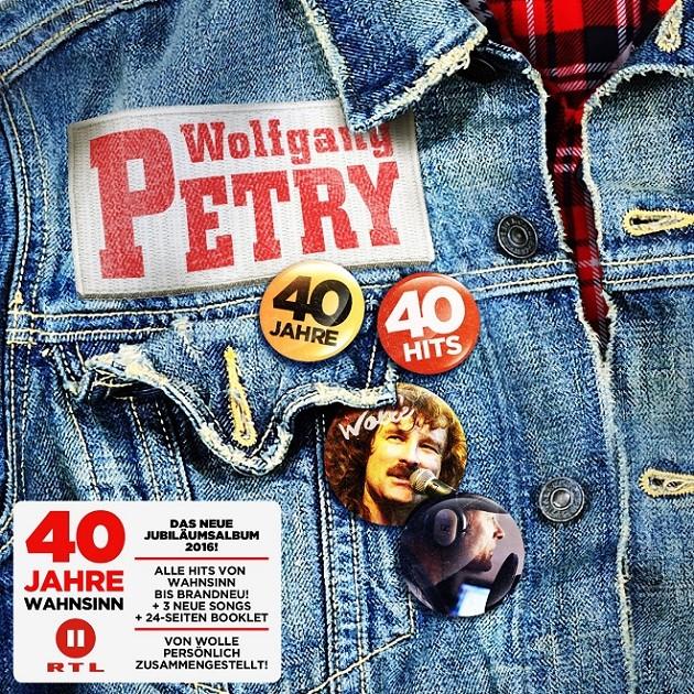 Wolfgang Petry - 40 Jahre 40 Hits