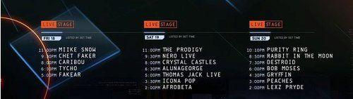 UMF-Livestage-SetTimes