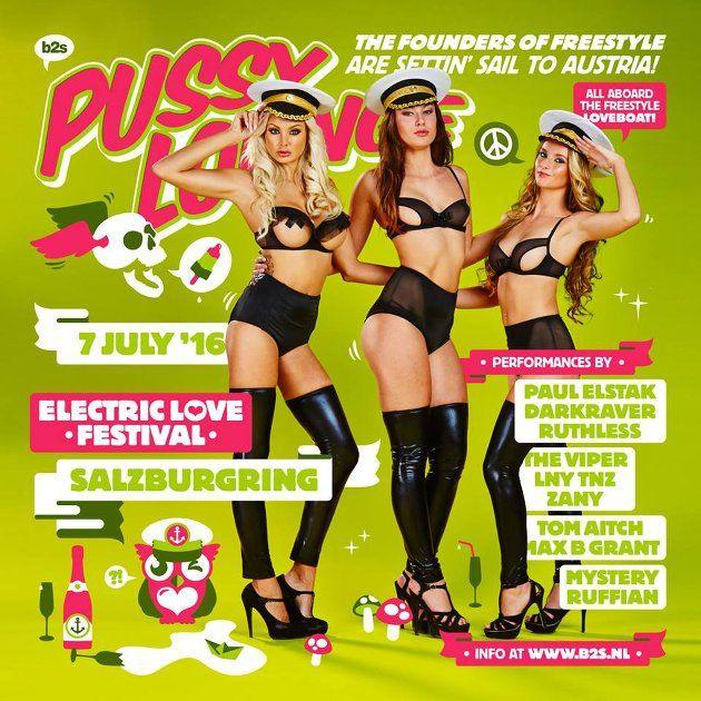 Pussy Lounge ELF 2016