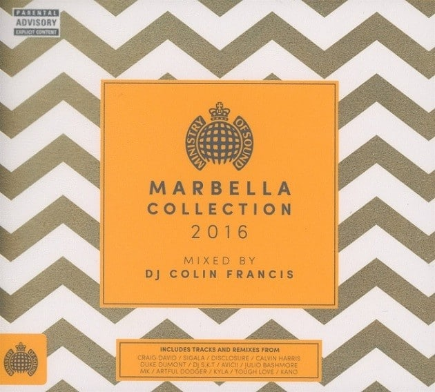 Ministry of Sound Marbella Collection 2016