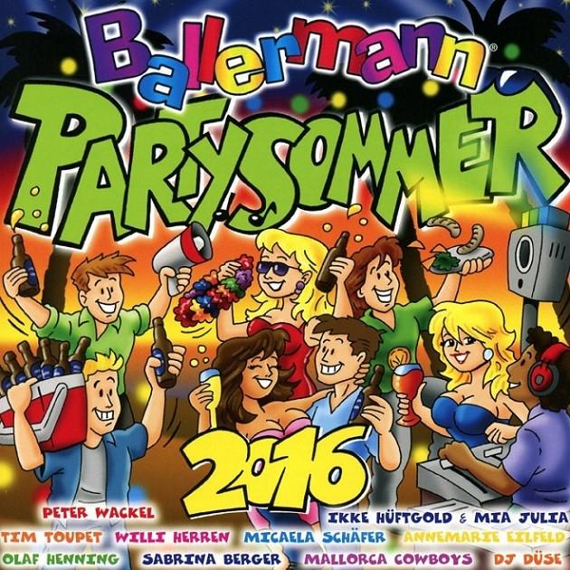 Ballermann Party Sommer 2016