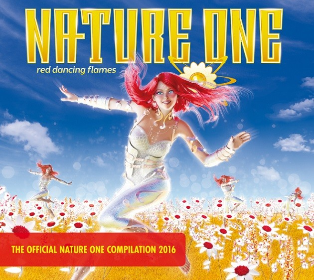 Nature One 2016 - Red Dancing Flames