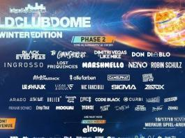 BCB World Club Dome 2018 Winter Edition Line Up