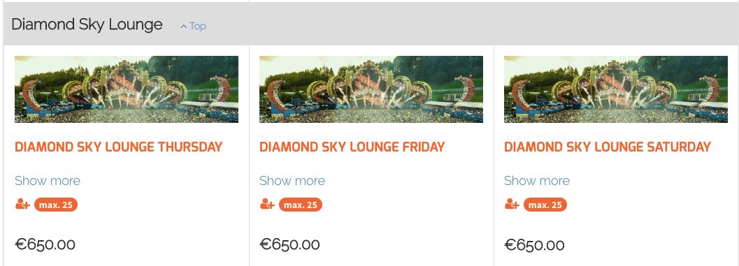 Electric Love Festival 2019 Tickets Diamond Sky Lounge Preise
